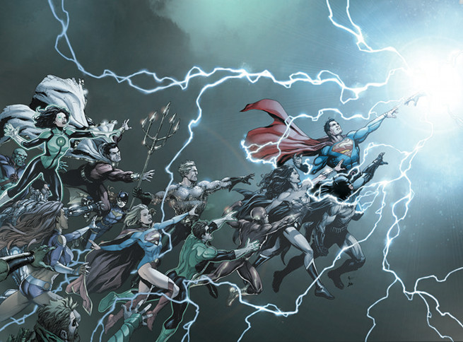 Some Thoughts on DC Universe: Rebirth